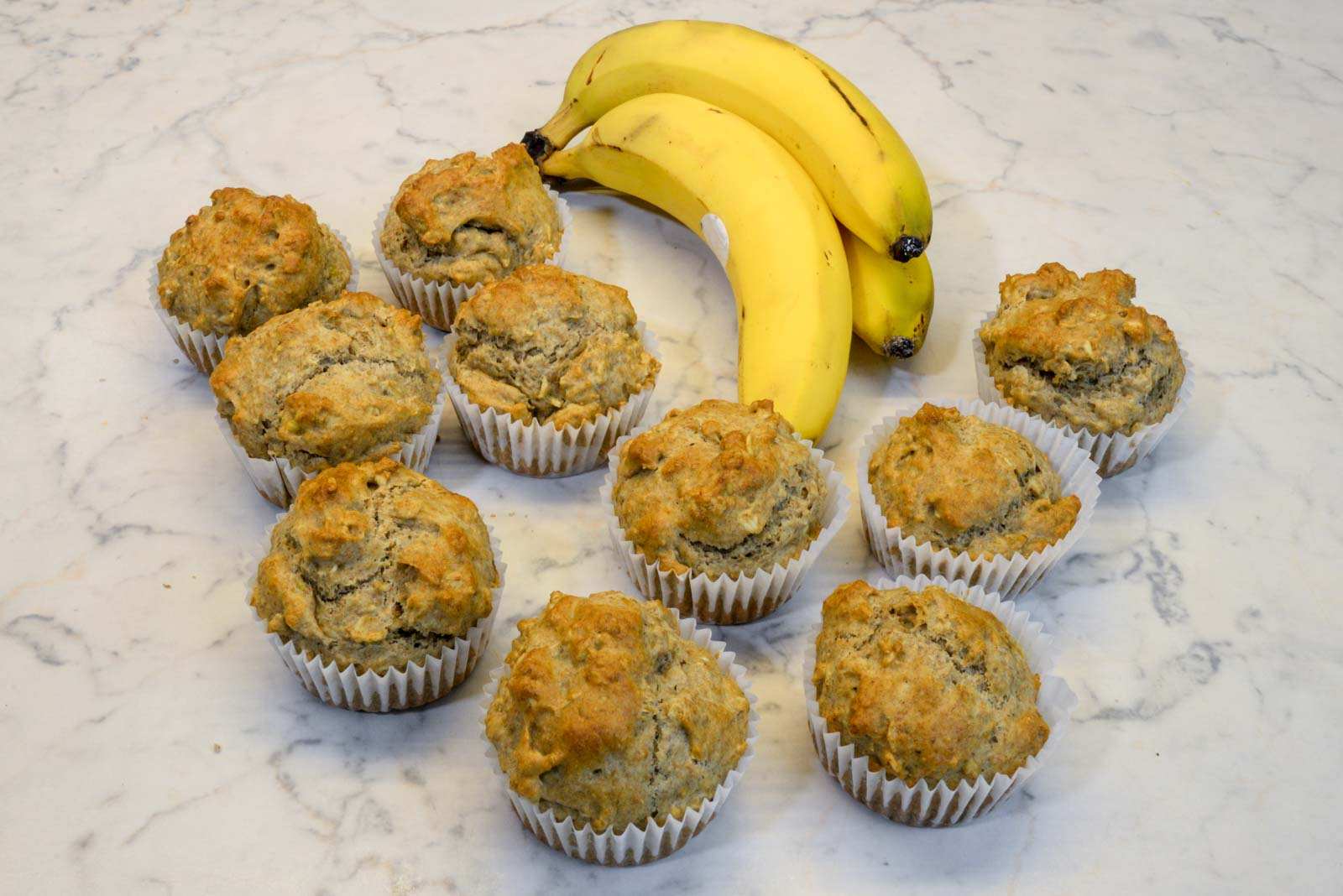 Thumbnail Baby Bananen Muffins