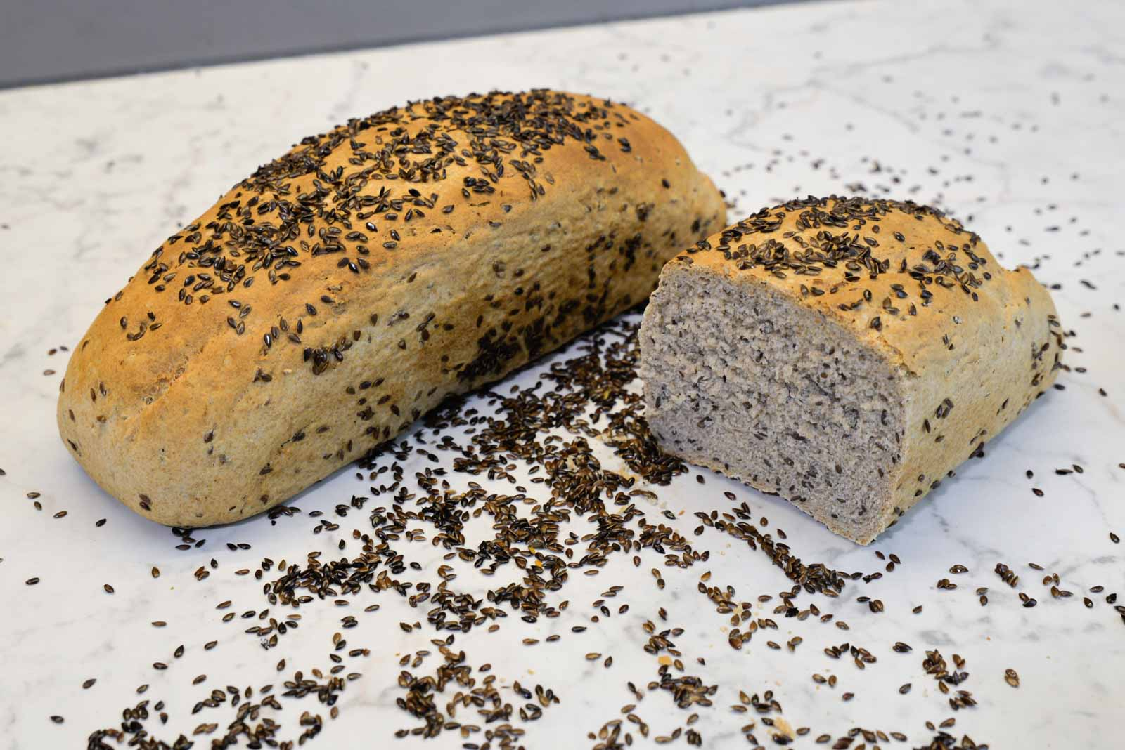 Thumbnail Dinkel Leinsamen Brot