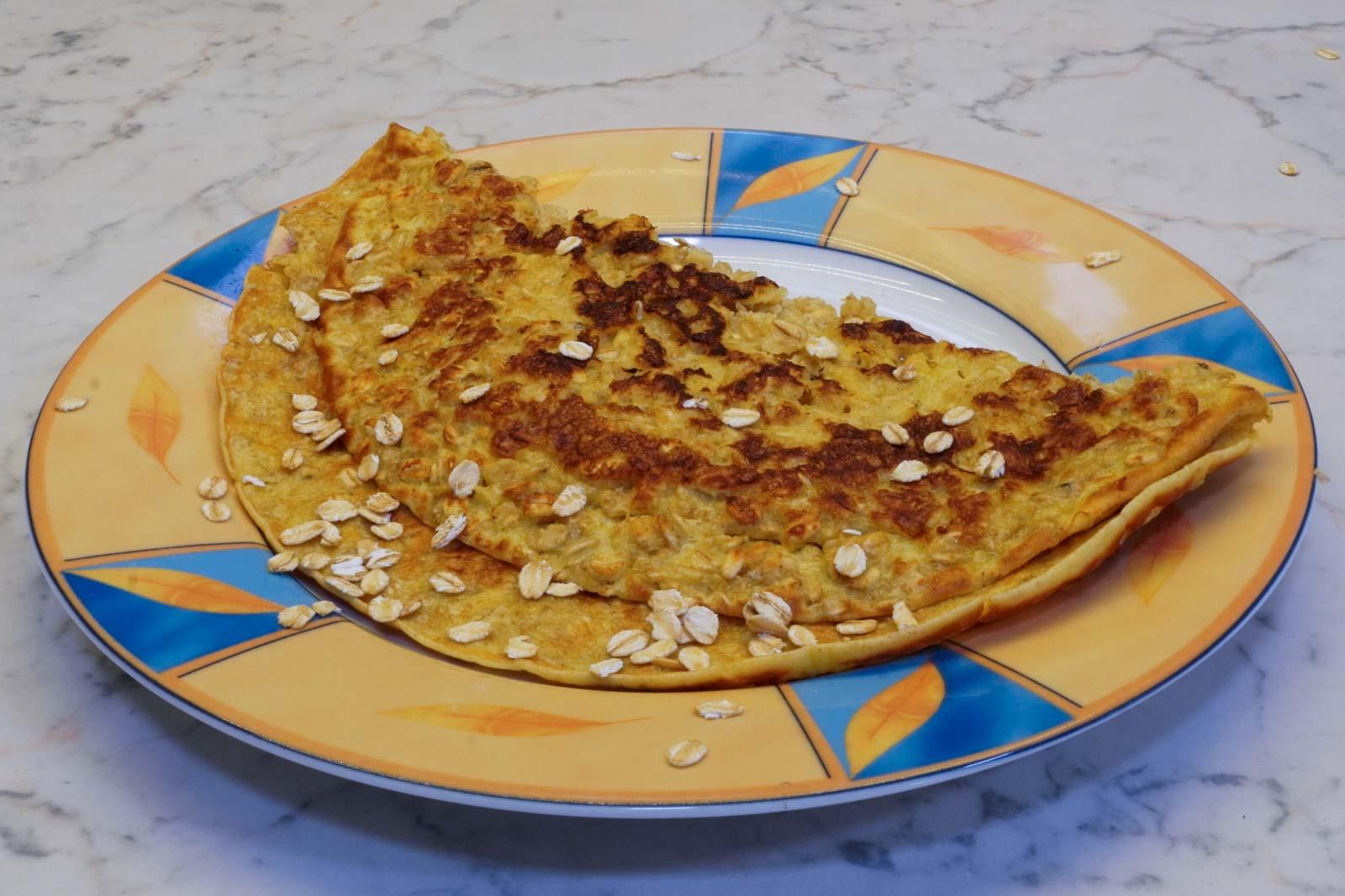 Haferflocken-Pfannkuchen-4