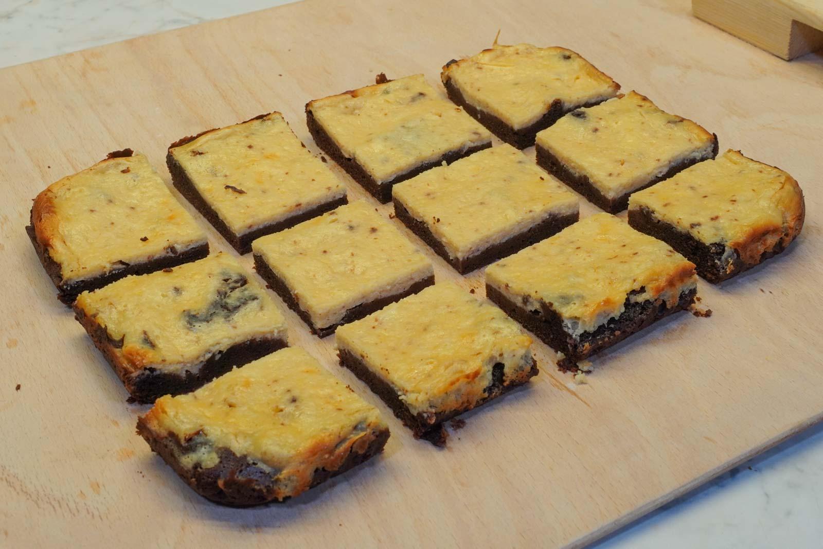 Thumbnail-Brownie-Käsekuchen