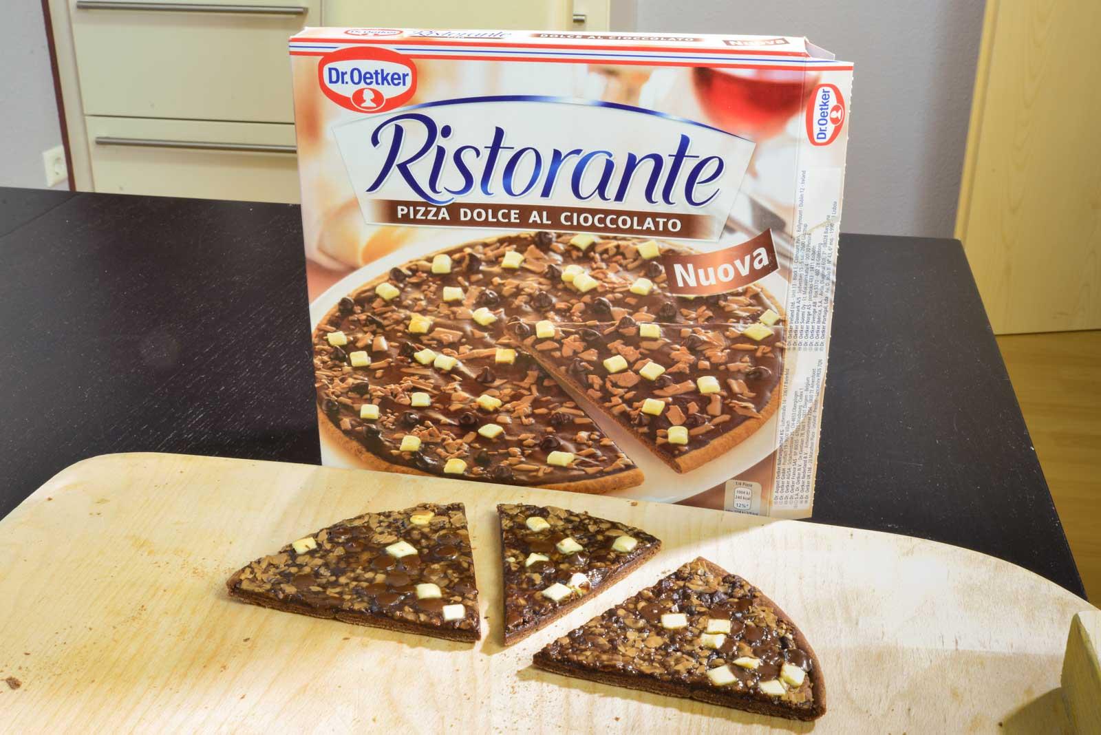 Schokoladenpizza Von Dr Oetker Checkosbackstube
